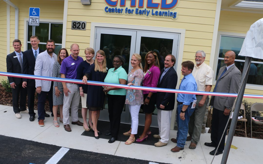 The CHILD Center cuts the ribbon on its new facility!