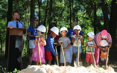 CHILD Center Breaks Ground