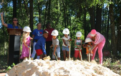 CHILD Center celebrates breaking ground